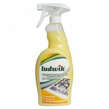 Средство Ludwik молочко для чистки кухни, 750мл., фото 2