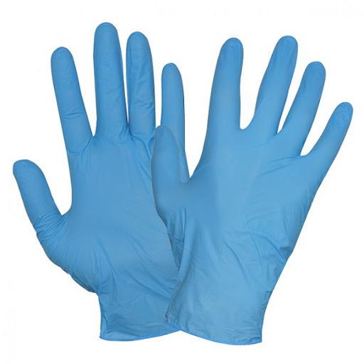 Перчатки медицинские нитриловые