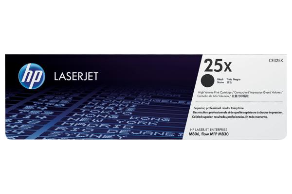Картридж увеличенной емкости лазерный HP CF325X 25X High Yield (Black)
