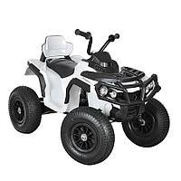 Электро-Квадроцикл надувные колеса, Белый ZHEHUA