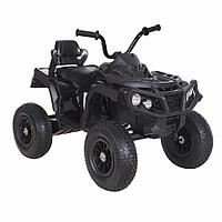 Электро-Квадроцикл надувные колеса, чёрный ZHEHUA