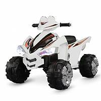 Электроквадроцикл, колеса EVA, Белый ZHEHUA