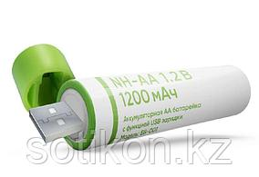 Аккумуляторы Elari NH-AA 1.2 B 1200mAh 2 штуки в блистере