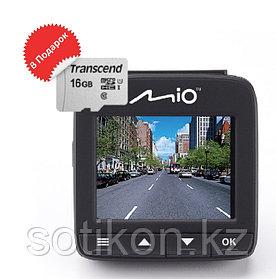 Видеорегистратор Mio MiVue 600 + microSD 16 Gb