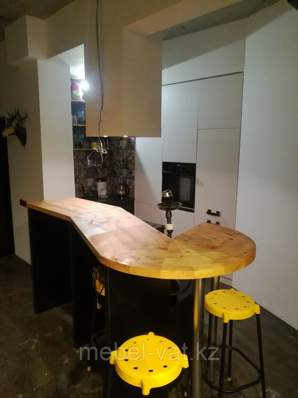 Угловые кухни: лофт; скандинавский стиль. На заказ