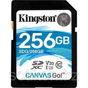 Карта памяти SD 256GB Class 10 U3 Kingston SDG/256GB