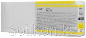 Картридж Epson C13T636400 SP 7900 / 9900 желтый, фото 2