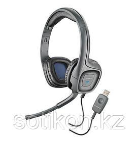 Наушники-гарнитура проводная Plantronics AUDIO 655 DPS черный USB