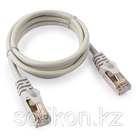 Патч-корд FTP Cablexpert PP22-1m кат.5e, 1м, литой, многожильный (серый)