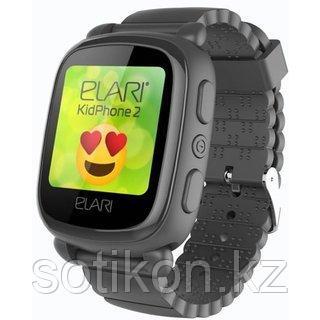 Смарт часы Elari KIDPHONE 2 черный, фото 2
