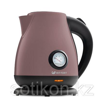Электрический чайник Kitfort KT-642-4 лиловый, фото 2