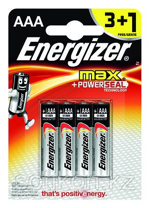 Элемент питания LR03 АAA Energizer MAX  Alkaline 3+1 штуки в блистере АКЦИЯ, фото 2