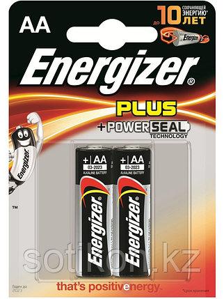 Элемент питания LR6 AA Energizer POWER  Alkaline 2 штуки в блистере, фото 2