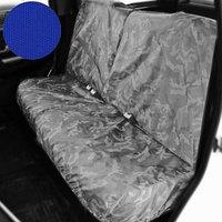Раздельный чехол на заднее сиденье Tplus для УАЗ ПАТРИОТ, 4шт., синий (T014366)