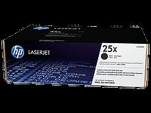 HP CF325X  Картридж лазерный черный HP 25X для LaserJet M806+, M806dn; M830z