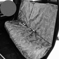 Раздельный чехол на заднее сиденье Tplus для УАЗ ПАТРИОТ, 4шт., серый (T014362)