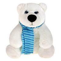 Мягкая игрушка 'Медведь белый Галант', 20 см