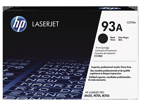 HP CZ192A Картридж лазерный черный HP 93A для LaserJet Pro M435nw