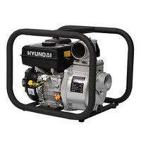 Мотопомпа бензиновая Hyundai HY 80, 5.2 кВт, 1000 л/мин, ручной стартер, для чистой воды