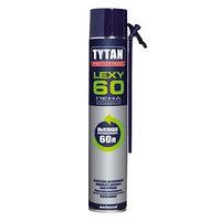 Пена монтажная Tytan Professional Lexy 60, всесезонная, 750 мл, до 60 л (комплект из 2 шт.)
