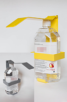 Дозатором настенный с антисептиком для рук, 1000 мл. (полный комплект)