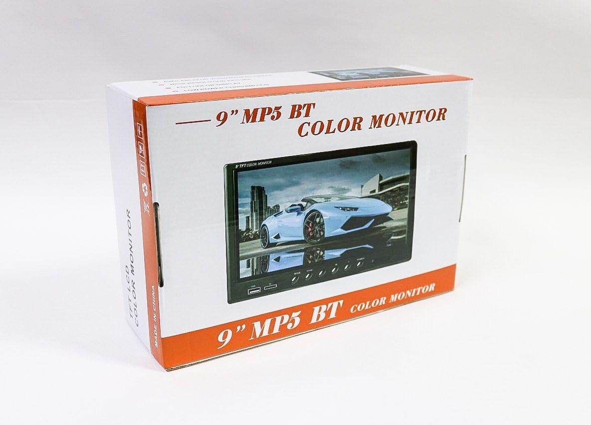 Автомобильный зеркало-монитор 9 MP5 BT
