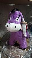 Детская качалка СибМишка Ослик фиолетовый, фото 1
