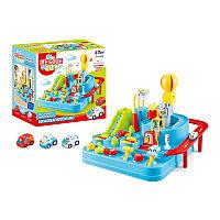 Развивающая игрушка Город спасателей. Механическое управление, фото 1