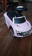 Детский толокар Ауди 741 розовый, фото 1