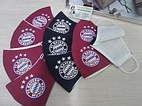 Нанесение логотипа футбольного клуба на Маски