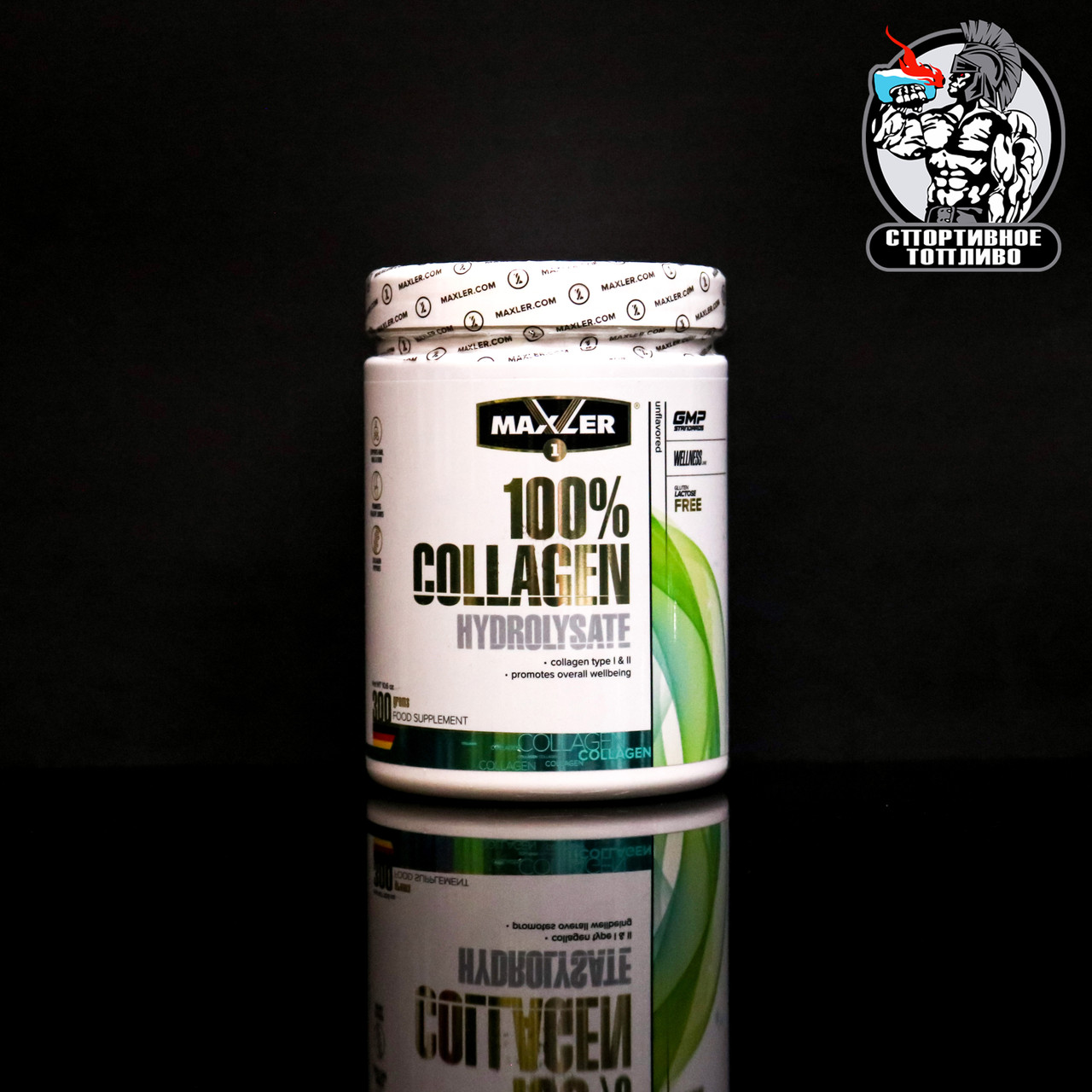 Maxler - Collagen Hydrolysate 100%  300гр/30порций