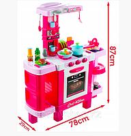 Детская игровая Кухня Kitchen 008-938 Звук, Свет, Кофеварка, Тостер