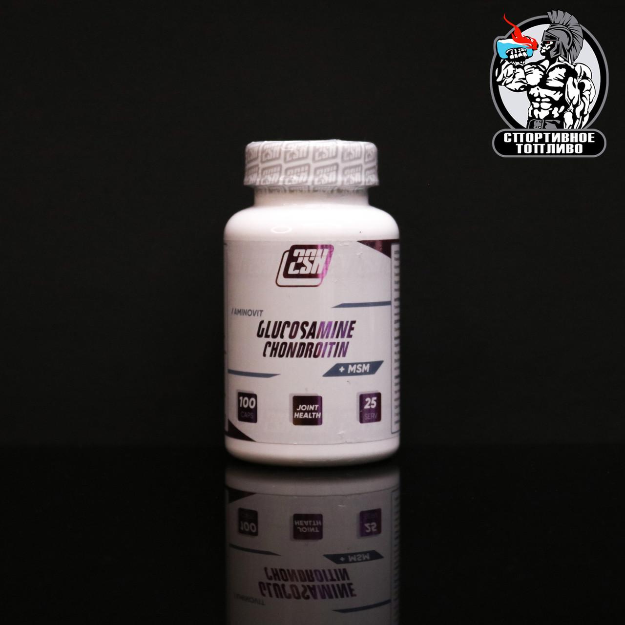 2SN - Glucosamine + Chondroitin + MSM 600mg/100капс
