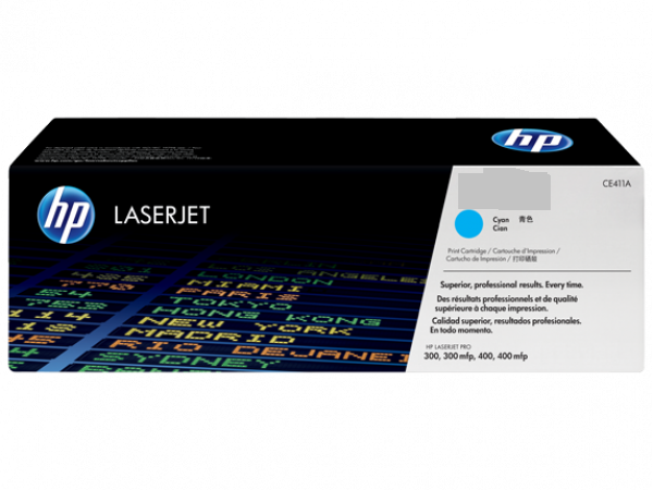 Лазерный картридж HP CE311A (Cyan)