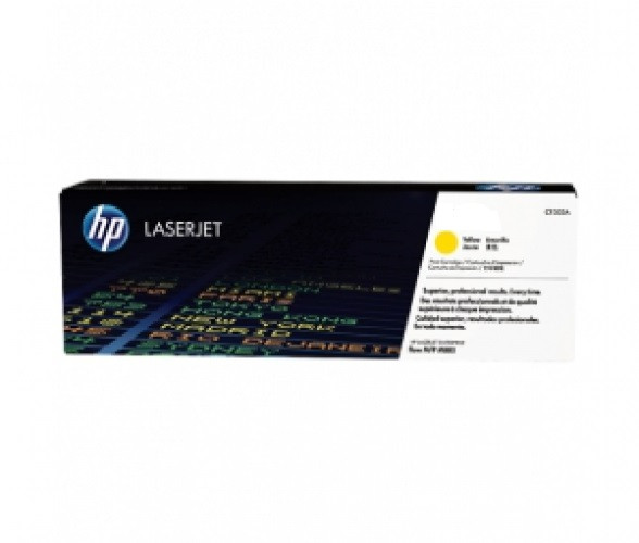 Лазерный картридж HP CE322A (Yellow)
