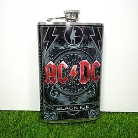 Металлическая фляжка AC/DC