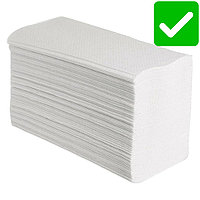 Бумажные полотенца для диспенсера 2-х слойные. 100% целлюлозы.