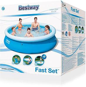 Большой надувной бассейн Bestway 57266 (Габариты: 305 х 76 см, на  3638 литров), фото 2