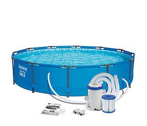 Круглый каркасный бассейн Bestway 56416 (366 х 76 см, на 6473 литра ), фото 2