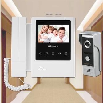 Видеодомофоны, видеоглазки и видеоняни