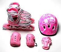 Роликовые коньки Happy Mondays Pink 28 - 33, фото 1