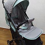 Прогулочная коляска Mstar (Baby Grace) Серый/бирюза, фото 2