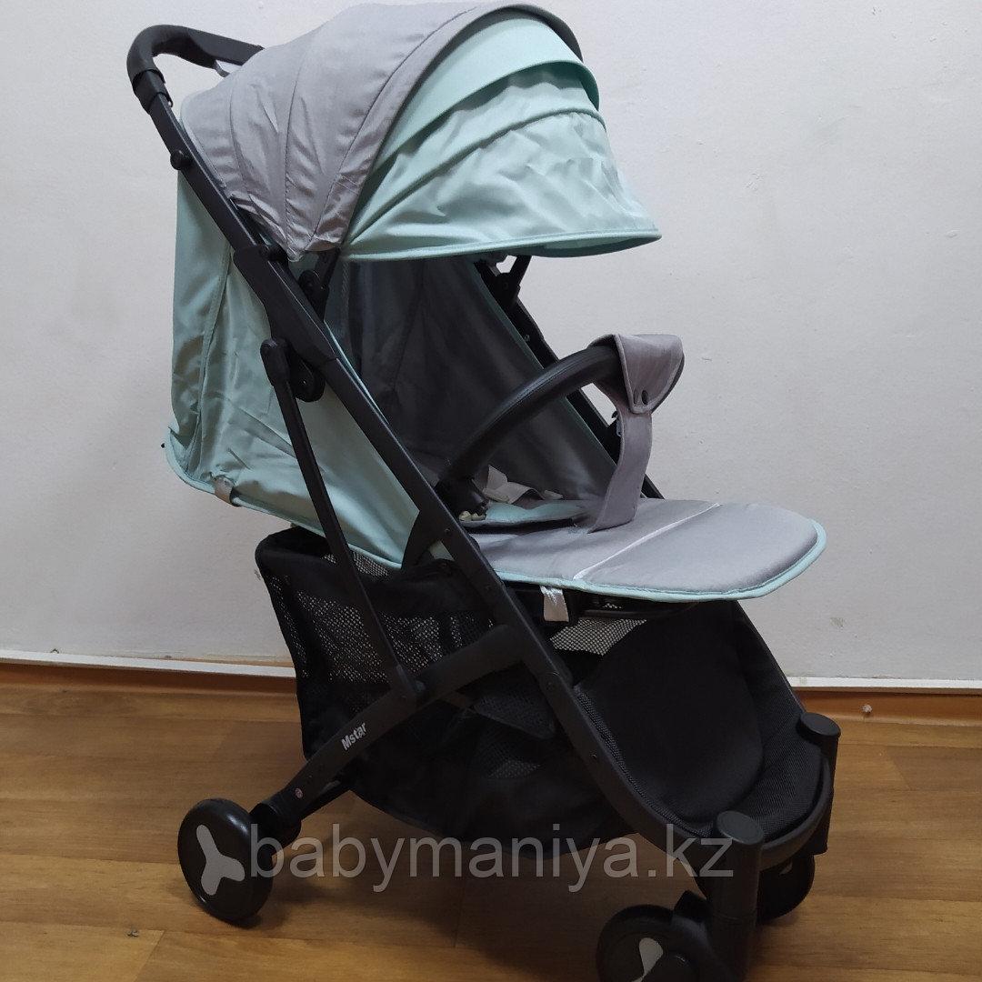 Прогулочная коляска Mstar (Baby Grace) Серый/бирюза