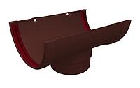 Воронка желоба 120x87 мм Коричневый Grand Line