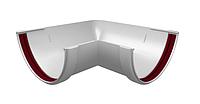 Угол желоба 90° 120x87 мм Белый Grand Line