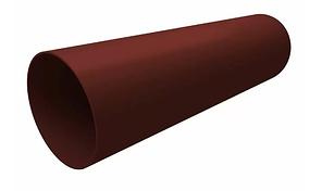 Труба водосточная 87x3000 мм Коричневый Grand Line
