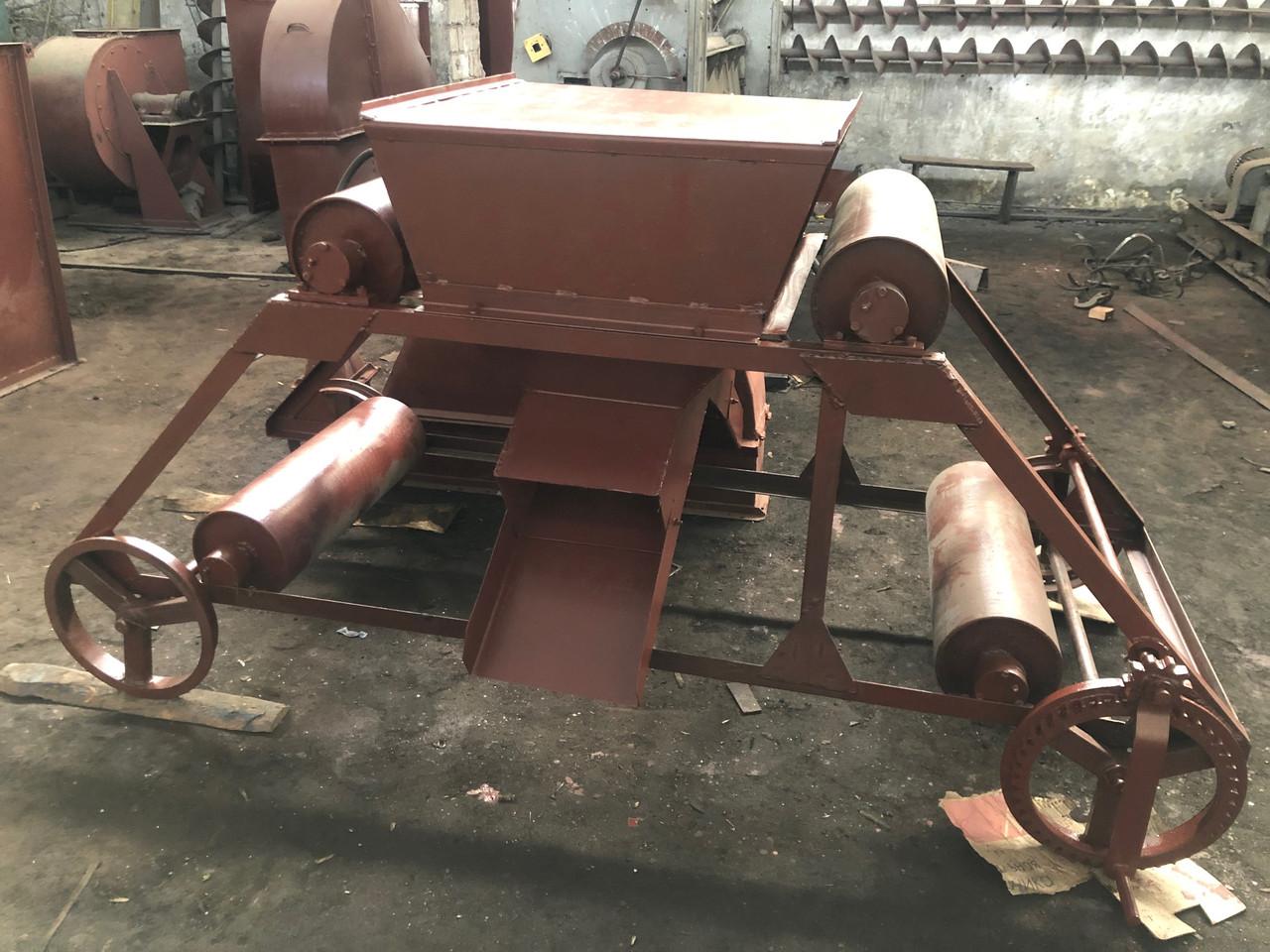 Реверсная сбрасывающая тележка для зерновых конвейеров