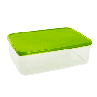 Емкость для продуктов Amore прямоугольная 1,5 л, фото 1