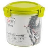 Емкость для продуктов Fresco круглая 0,7 л, фото 1
