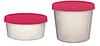Комплект емкостей для продуктов с завинчивающейся крышкой 0,4 л + 0,7 л